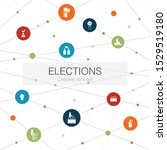 elections trendy web template...