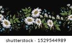 beautiful white chamomiles... | Shutterstock .eps vector #1529544989