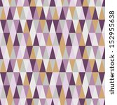 triangle seamless harlequin... | Shutterstock .eps vector #152955638