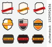retro badges and label set ... | Shutterstock .eps vector #1529592656