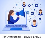 public relations and marketing...   Shutterstock .eps vector #1529617829