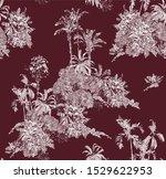 seamless pattern vintage...   Shutterstock .eps vector #1529622953
