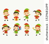 collection of christmas elves...