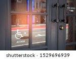 handicapped access entrance... | Shutterstock . vector #1529696939