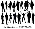 people set | Shutterstock .eps vector #152972630