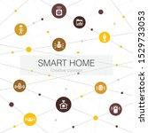 smart home trendy web template...