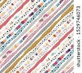 template seamless abstract... | Shutterstock .eps vector #1529746073