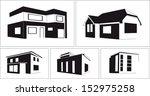 buildings set. | Shutterstock .eps vector #152975258