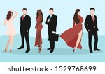 a group of people from men and...   Shutterstock .eps vector #1529768699