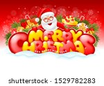 cheerful and bright... | Shutterstock .eps vector #1529782283