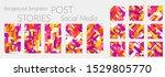 creative backgrounds for social ...   Shutterstock .eps vector #1529805770