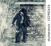 Постер, плакат: Environmental disaster Post apocalyptic