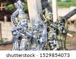 Statue Art Of Lord Krishna...