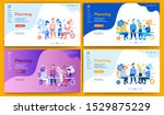 template for landing page ... | Shutterstock .eps vector #1529875229