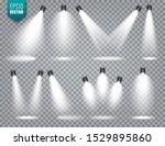 vector spotlight set. bright...   Shutterstock .eps vector #1529895860