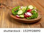 Spring Homemade Radish Salad...