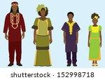 african family | Shutterstock .eps vector #152998718