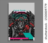 brochure template flyer... | Shutterstock .eps vector #1530009779