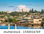 Tacoma  Washington  Usa With M...