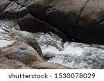 Water Running Through A River