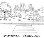 crosswalk street road graphic...   Shutterstock .eps vector #1530096533
