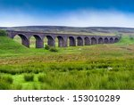 Viaduct In North Yorkshire ...