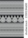 textile traditional paisley... | Shutterstock . vector #1530134600