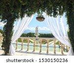 Italian Garden Statue And...
