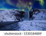 Skogafoss Waterfall In The...