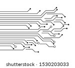 circuit board lanes abstract...   Shutterstock .eps vector #1530203033