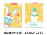 Joy And Let It Snow  Posters...