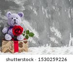 Bright Plush Toy  Blooming Red...