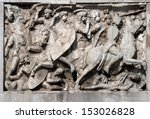 Fight Scene On A Relief Of The...