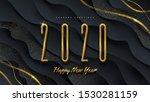 2020 new year illustration....   Shutterstock .eps vector #1530281159