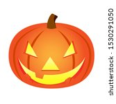 jack o lantern illustration.... | Shutterstock .eps vector #1530291050