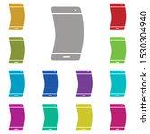 smartphone  flexible ...