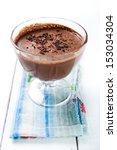 dark and delicate chocolate... | Shutterstock . vector #153034304