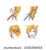 hairdresser service color line...