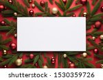 christmas background with white ... | Shutterstock . vector #1530359726