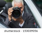 mature paparazzi spying and... | Shutterstock . vector #153039056