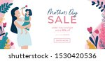mothers day sale banner...   Shutterstock .eps vector #1530420536