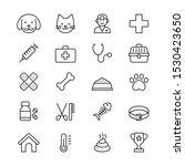 cute veterinary icon set  vet...   Shutterstock .eps vector #1530423650