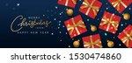 christmas horizontal banner ... | Shutterstock .eps vector #1530474860