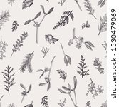 natural seamless pattern with... | Shutterstock .eps vector #1530479069