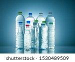 Set Of Transparent Plastic...