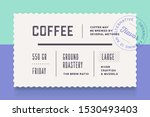 vintage minimal label. set of... | Shutterstock .eps vector #1530493403