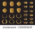 set of vector premium laurel ... | Shutterstock .eps vector #1530503639