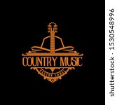 country guitar music western... | Shutterstock .eps vector #1530548996