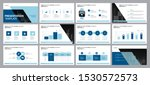 business presentation design... | Shutterstock .eps vector #1530572573