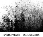 black and white grainy grunge... | Shutterstock . vector #1530589886